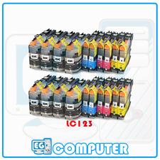 KIT 20 CARTUCCE BROTHER LC123 MFC J245 J4410DW J4510DW J4610DW J470DW J4710DW