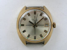 Mechanical (Hand-winding) Gold Plated Strap Wristwatches