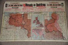 13 Monate Weltkrieg Erster Weltkrieg Übersicht Landkarte Kriegsschauplatz 1915