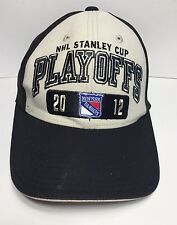 NHL Stanley Cup Playoffs 2012 Cap Hat Old Time Hockey Adjustable 100% Cotton