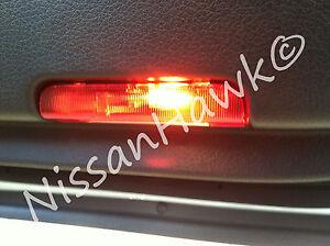 NEW OEM NISSAN INTERIOR DOOR LIGHT (RED) - COURTESY LIGHT - SEE LIST FOR MODELS