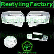 09-12 Dodge Ram Chrome Mirror w/ Light hole+Tailgate No Camera No KH+GAS Cover