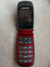 Samsung Jitterbug SCH-R220 Red Cellphone