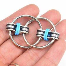 Fidget Toy Hand Spinner Key Ring Sensory Toys Stress Relieve Fidget ADHD Chain