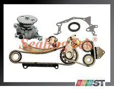 Fit Suzuki J18A J20A J23A Engine Timing Chain Kit + Oil Pump Set oil seal gasket