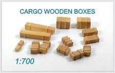 Niko Modèle 1/700 Cargo boîtes en bois
