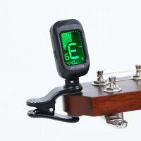 Anfänger Anklippen Digital Stimmgerät für Akustische E-Gitarre Bass Zubehör