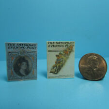 Dollhouse Miniature Detailed Replica The Saturday Evening Post Magazine TIN1075