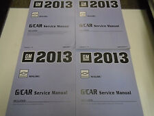 2013 Chevrolet Chevy MALIBU Repair Workshop Service Shop Manual SET NEW 2013 GM