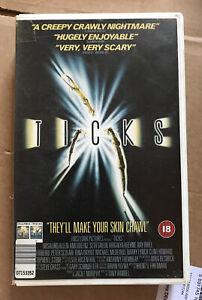 Ticks Horror Original Big Box VHS  18