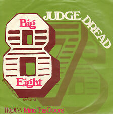 "JUDGE DREAD ‎– Big Eight (1973 REGGAE VINYL SINGLE 7"" GERMAN PS)"