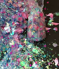 glitter mix acrylic gel nail art   crafts NICE GIRLS ONLY