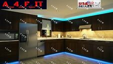 Kitchen Under Cabinet Lighting Kit LED Fixture RGB Multi-Color Wireless USA12v