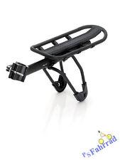 XLC Fahrrad Gepäckträger RP-R06 schwarz matt, Alu, für Sattelstütze