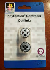 NEW SEALED Numskull Official Sony Playstation Controller Cufflinks (Silver) PSX