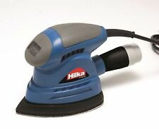 Palm Sander Woodwork Sanding Electric Detail Hand Dust Extraction 130 W Hilka