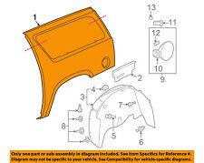 GM OEM-Quarter Panel Rear Fender Right 15829330
