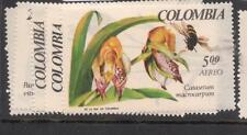 Colombia Orchid Flowers SC 768-9,C489-91 MNH (10dex)