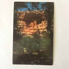 Montezuma Castle Prehistoric Indian Ruin Prescott Arizona Unposted Postard