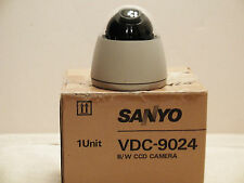 KILLER DEAL! Don't Miss it Sanyo Low Light CCD SURVEILLANCE Dome Camera VDC-9024