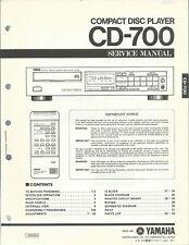 Yamaha CD-700 / Service Manual / Anleitung