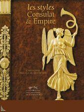 Les Styles Consulat et Empire, livre de C. Huchet de Quénetain