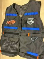 Nerf Utility Tag Velco Vest Replacement N Strike Strap On Free Post