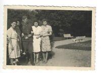 Foto, Soldat in Uniform, Mütze, Frauen, Foto aus Schwarzburg