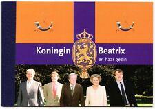 Nederland PR2 Prestigeboekje Koningin Beatrix en haar gezin 2004 PF