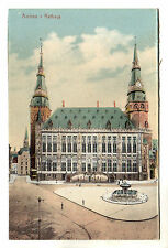 Rathaus - Aachen Photo Postcard c1920s / Germany