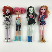 Monster High Lot of 4 Dolls Frankie Stein Operetta Gigi Grant Howleen
