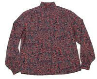 VTG PENDLETON Country Sophisticates Womens Paisley Classic Button Up Blouse 12