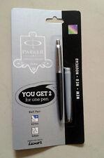 Parker Jotter Ball Pen CT  * Limited Special Edition : Black Body + Grey Barrel