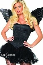 Classic Corset Burlesque Dancer Bustier Halloween Costume Accessory 3 COLORS