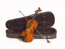 Violin Student 3/4 Stentor Standard Set With Brown Lightweight Case And Bow