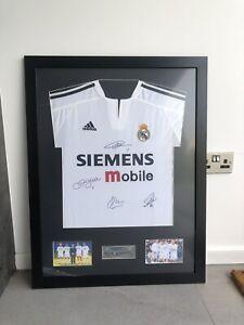 Galactico's Real Madrid Signed Shirt- Beckham, Figo, R9 And Zidane!!