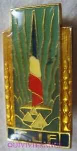 IN8498 - INSIGNE C.J.F, Insigne Général, doré, retirage
