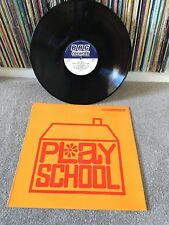 PLAY SCHOOL Various 1972 LP RARE!! BBC Records Johnny Ball Brian Cant EXCELLENT!