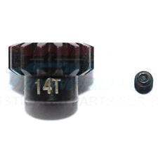 GPM Racing Steel 14T Pinion Gear (2Pcs) Set Black : TRX-4 / TRX-6