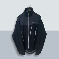 Mens Black Berghaus Choktoi Windstopper Fleece Jacket - Size Large (L) V13