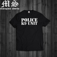 T Shirt Police K-9 Unit Special Forces Canine Dog Tee