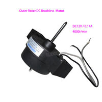 Outer Rotor DC Brushless Motor DC 12V 4000rpm With Built-in Driver Circuit