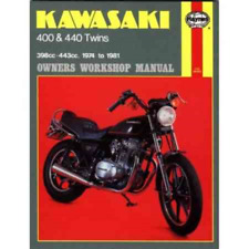 Auto & Motorrad: Teile Kawasaki Z 440 Prospekt 197? 193576