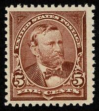 Scott#270 5c President Ulysses S Grant 1895 Mint NH OG Never Hinged