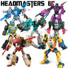 """Kids Boys Gift Toy Weijiang Deformable Robot The Headmasters 8"""" Action Figure"""