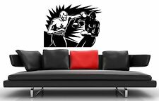 Wall Stickers Vinyl Decal Boxing Martial Arts Sports ig1330