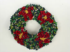 "Proggy Mat Christmas Wreath 30cm / 12"" Rag Rugging Kit"