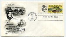 1409 Fort Snelling, ArtCraft, 'use zip code' tab single, FDC