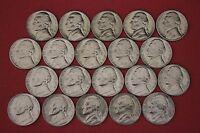 1970 D S 1971 1972 1973 1974 1975 1976 1977 1978 1979 P D BU Jefferson Nickels