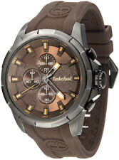 Reloj hombre Timberland Boxford 15253jsu-12p de goma Marr¥n